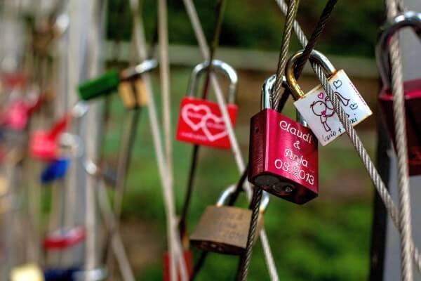Valentinstag: Schloss der Liebe
