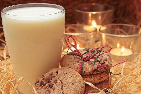Plätzchen zum Nikolaustag