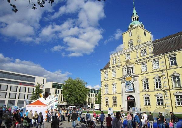 Oldenburg Fußgängerzone