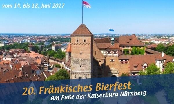 Bierfest Nürnberg: Feiern Sie mit uns am Fuße der Kaiserburg Nürnberg!