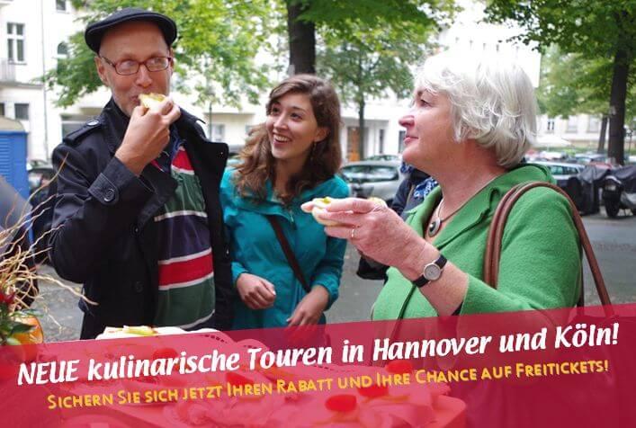 neue Touren Hannover und Köln