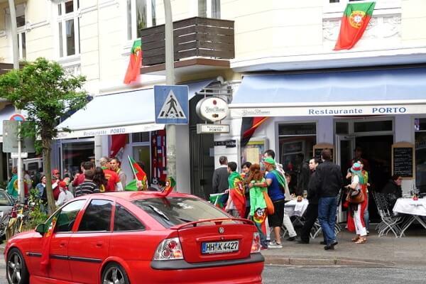 Südländisch, multikulturell & bunt – das Portugiesenviertel in Hamburg
