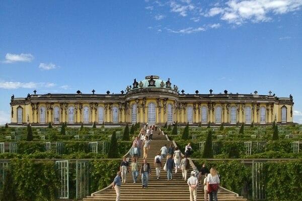 Potsdamer Schlössernacht-Schloss Sanssouci