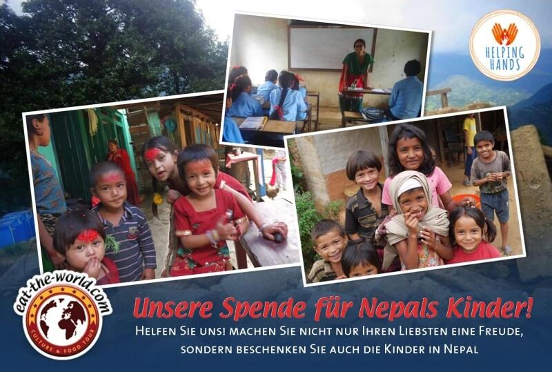 Spende für Nepal
