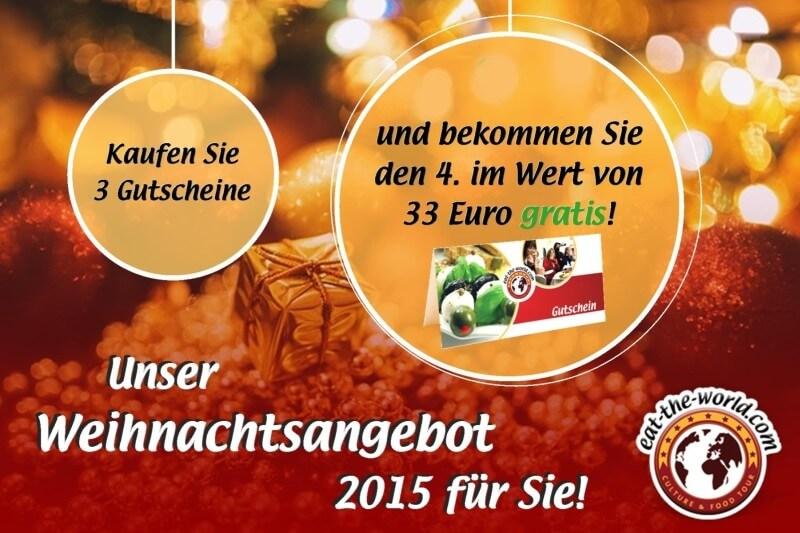 Kulinarische Weihnachtsgeschenkideen: Bekommen Sie 4 und zahlen nur 3!
