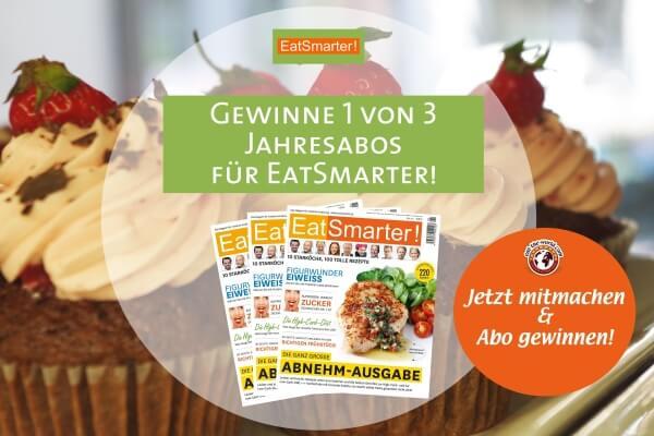 EatSmarter-Gewinnspiel: 3 Jahresabos zu gewinnen