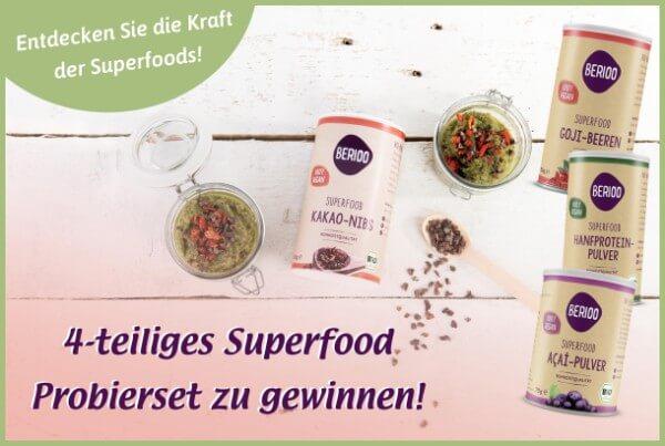 Gewinnen Sie eine Superfood-Box von Berioo!