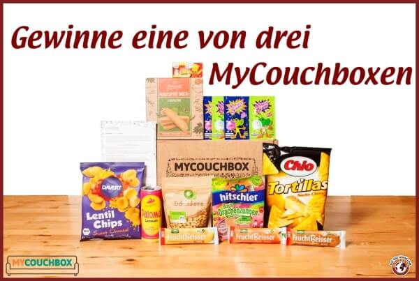 Gewinne eine von drei MyCouchboxen