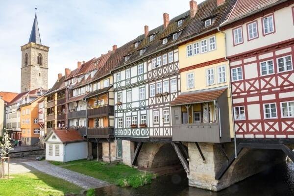 Mit von der Partie beim Krämerbrückenfest 2017: das Wahrzeichen Erfurts – die Krämerbrücke!