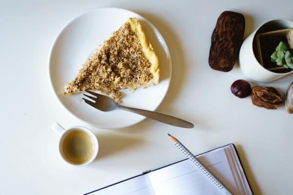 Der schlesische Mohnkuchen mit Streuseln - fertig zum Verzehr