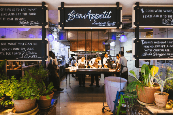 Ausgefallene Restaurants in Deutschland