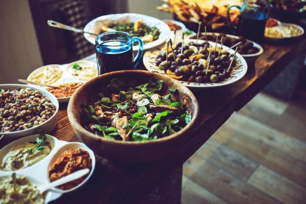 Levante Küche - kulinarische Köstlichkeiten