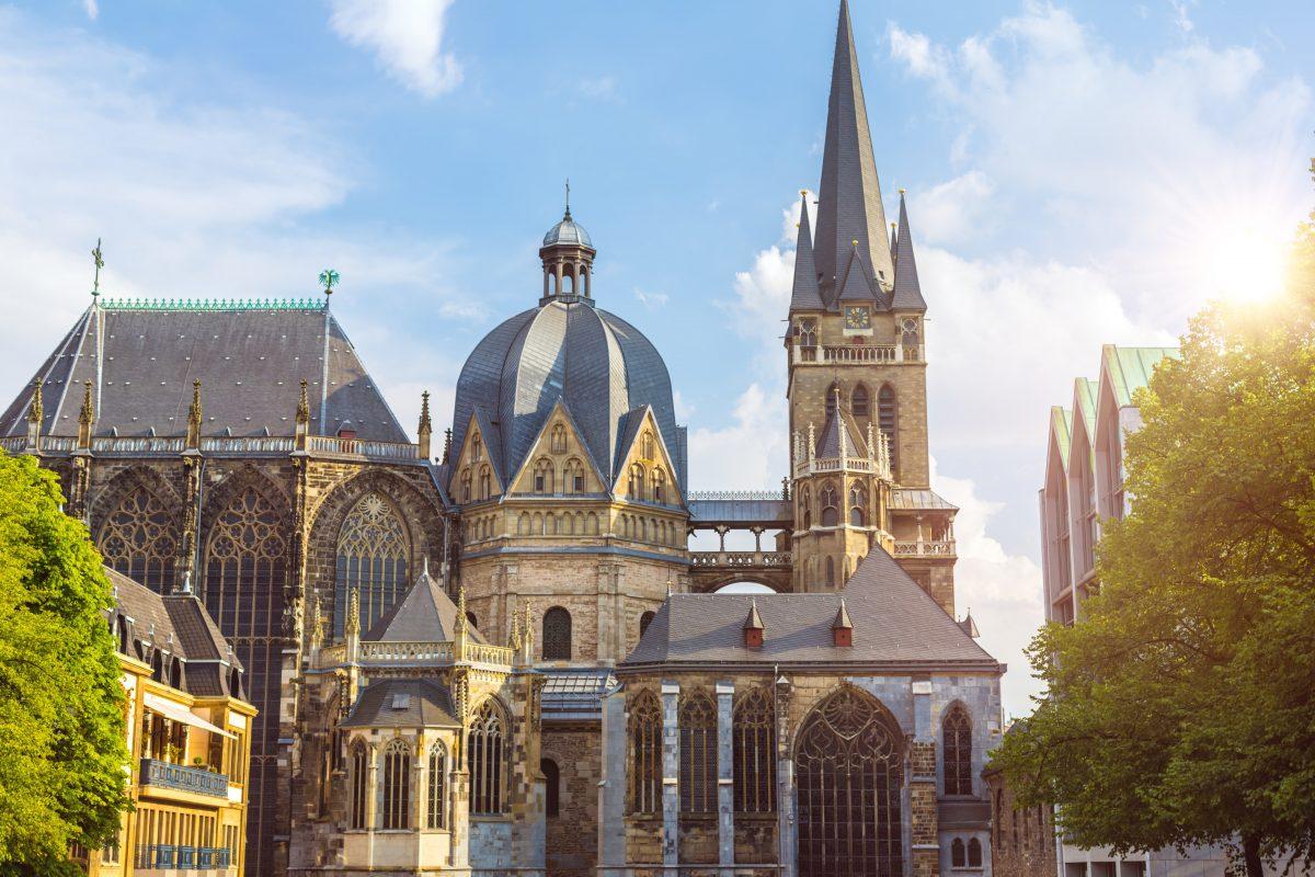Aachen Altstadt Stadtrundgang