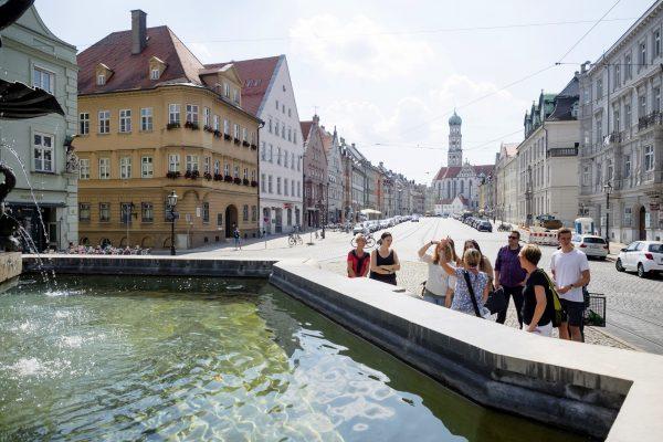 Augsburg Augsburg Ulrichsviertel-Tour