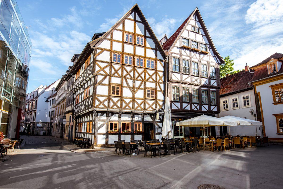 Erfurt Andeasviertel Stadtrundgang