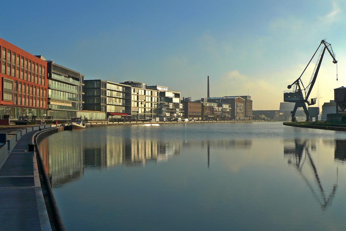 Münster Hafen Stadtrundgang