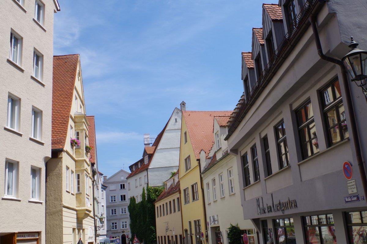 Augsburg Altstadt Stadtrundgang