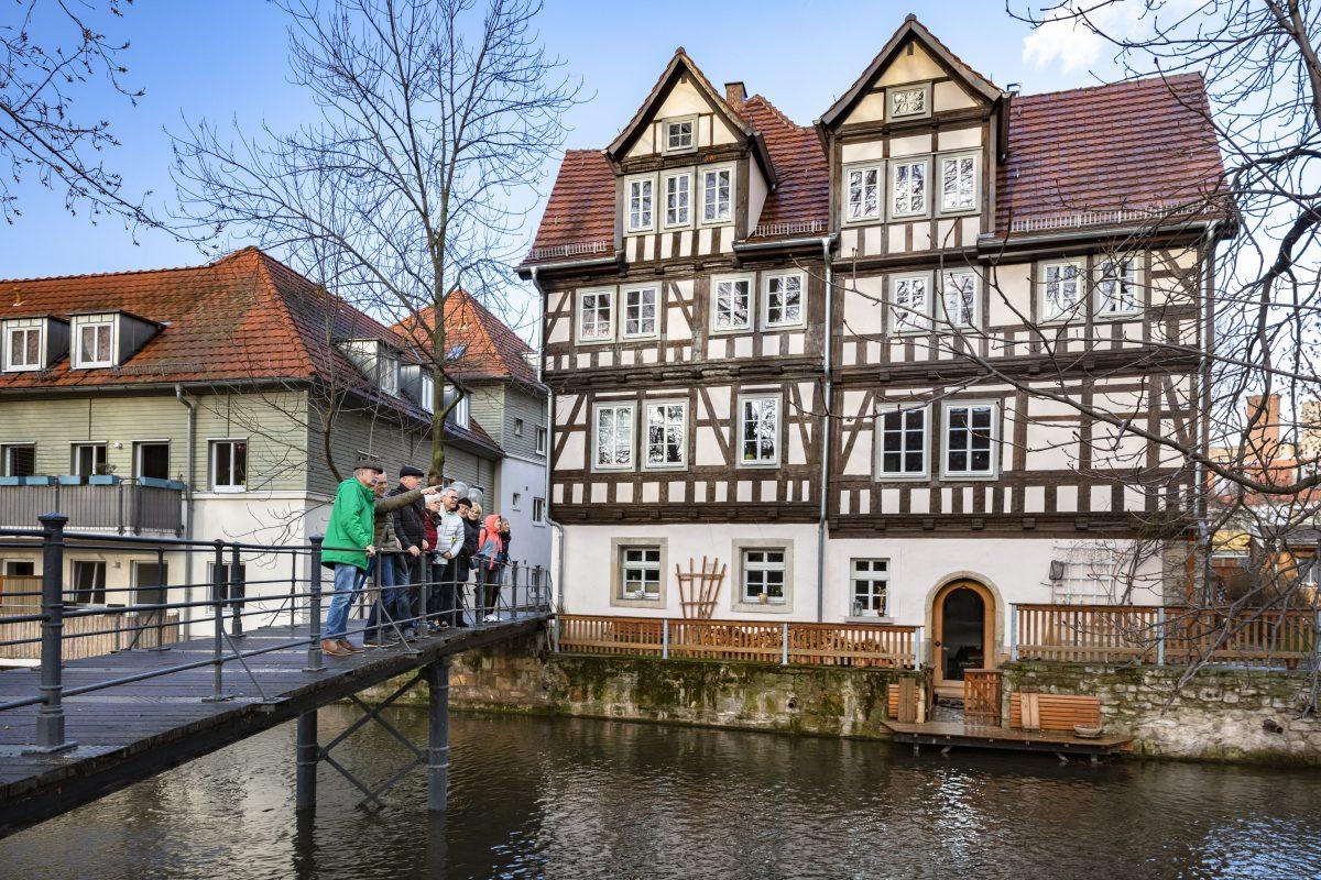 Erfurt historischer Sonntag Stadtrundgang