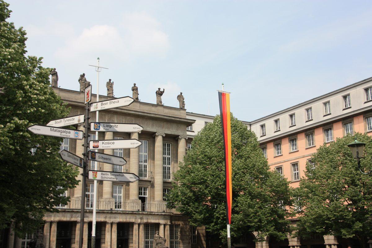 Wuppertal Barmen Mitte Stadtrundgang