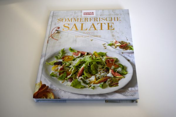 """essen&trinken Buch """"Sommerfrische Salate"""" Eat the Wrold"""