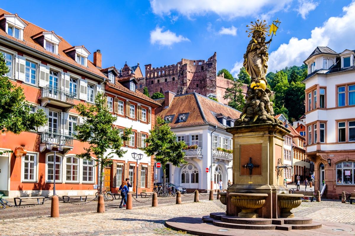 Heidelberg Altstadt Stadtrundgang
