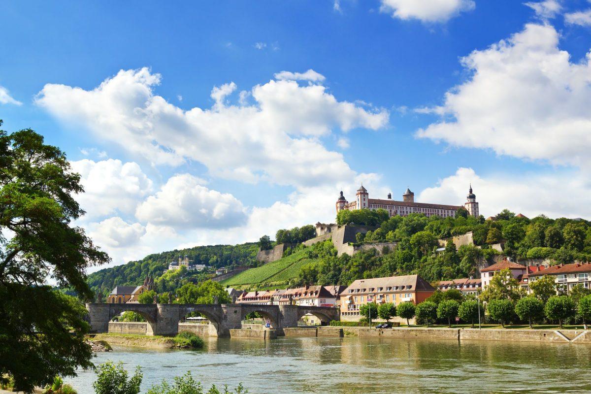 Würzburg Käppele Stadtrundgang
