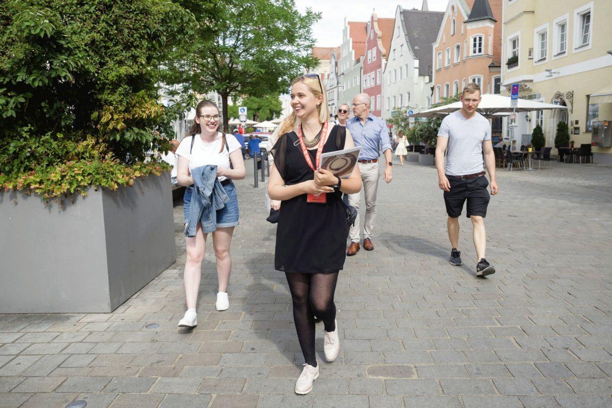 Ingolstadt Altstadt Stadtrundgang