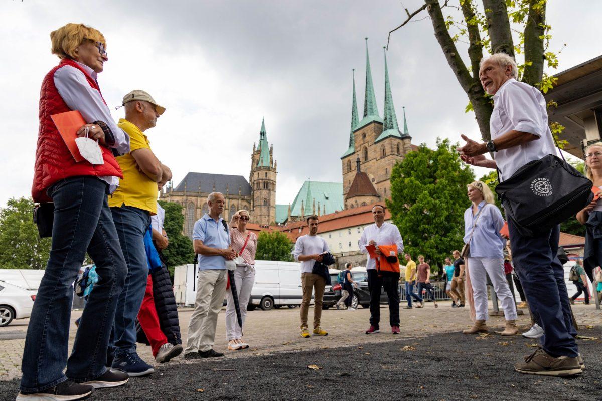 Erfurt macht Blau Stadtrundgang